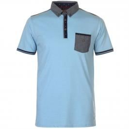 Pierre Cardin Printed Trim Polo Shirt Mens