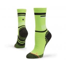 Ponožky Stance STANCE SPACED OUT NEON GREEN S W448A16SPA-GRN velikost S